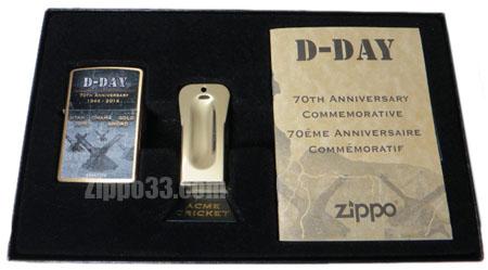 Zippo D DAY 70th Anniversary Commemorative